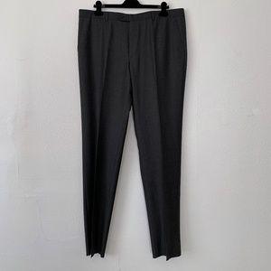 NWOT Burberry London wool flat front trouser